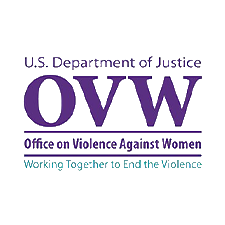 Department of Justice Office on Violence Against Women Logo